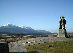 Commando-Monument-at-Spean-Bridge
